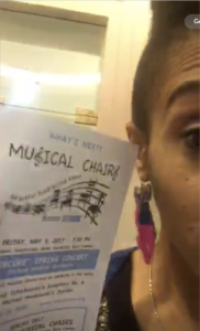 A Live Stream Video from the Musical Chairs Gala and Auction